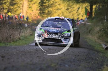 © North One Sport Limited 2010/ Octane Photographic Ltd. 2010 WRC Great Britain, Saturday 13th November 2010. Digital ref : 0119cb1d1616