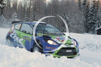 © North One Sport Limited 2011/Octane Photographic Ltd. 2011 WRC Sweden SS16 Torntorp I, Sunday 13th February 2011. Digital ref : 0156CB1D9370