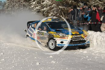 © North One Sport Limited 2011/Octane Photographic Ltd. 2011 WRC Sweden SS19 Torntorp II, Sunday 13th February 2011. Digital ref : 0155CB1D9549