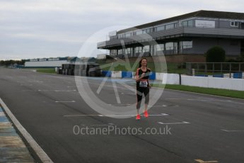 World © Octane Photographic Ltd. 5th February 2016 – Donington Park Racetrack. Suzi Perry launches the 2016 Donington Park Summer Running Festival. Digital Ref : 1500LB1D6574