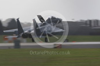 """World © Octane Photographic Ltd. RAF Lakenheath operations 16th November 2015, USAF (United States Air Force) 48th Fighter Wing """"Statue of Liberty Wing"""" 492 Fighter Squadron """"Madhatters"""", McDonnell Douglas F-15E Strike Eagle LN 96-202. Digital Ref : 1469CB7D0273"""