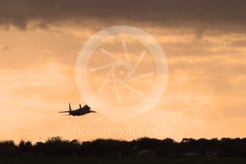 """World © Octane Photographic Ltd. RAF Lakenheath operations 16th November 2015, USAF (United States Air Force) 48th Fighter Wing """"Statue of Liberty Wing"""" 493 Fighter Squadron """"The Grim Reapers"""", McDonnell Douglas F-15C Eagle. Digital Ref : 1469CB7D0502"""