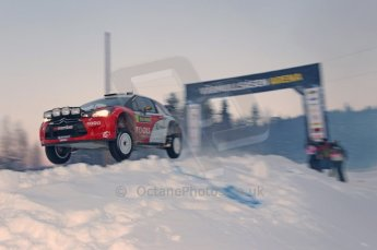 © North One Sport Limited 2011/Octane Photographic Ltd. 2011 WRC Sweden SS15 Varmulssen, Saturday 12th February 2011. Digital ref : 0157CB1D7798