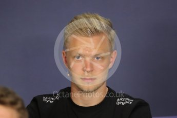 World © Octane Photographic Ltd. F1 Austrian GP FIA Drivers' Press Conference, Red Bull Ring, Spielberg, Austria. Thursday 30th June 2016. Renault Sport F1 Team - Kevin Magnussen. Digital Ref :1596LB1D5009