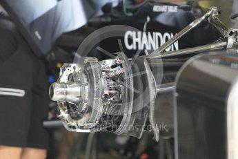 World © Octane Photographic Ltd. McLaren Honda MP4-31. Thursday 30th June 2016, F1 Austrian GP Pit Lane, Red Bull Ring, Spielberg, Austria. Digital Ref : 1594CB1D1489