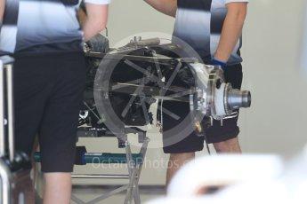 World © Octane Photographic Ltd. McLaren Honda MP4-31. Thursday 30th June 2016, F1 Austrian GP Pit Lane, Red Bull Ring, Spielberg, Austria. Digital Ref : 1594CB1D1504