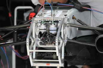 World © Octane Photographic Ltd. Haas F1 Team VF-16. Thursday 30th June 2016, F1 Austrian GP Pit Lane, Red Bull Ring, Spielberg, Austria. Digital Ref : 1594CB1D1532