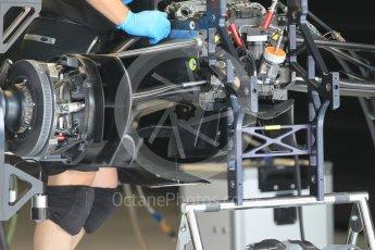 World © Octane Photographic Ltd. Williams Martini Racing, Williams Mercedes FW38. Thursday 30th June 2016, F1 Austrian GP Pit Lane, Red Bull Ring, Spielberg, Austria. Digital Ref : 1594CB1D1590