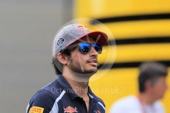 World © Octane Photographic Ltd. Scuderia Toro Rosso STR11 – Carlos Sainz. Thursday 30th June 2016, F1 Austrian GP Paddock, Red Bull Ring, Spielberg, Austria. Digital Ref :1594CB1D1730