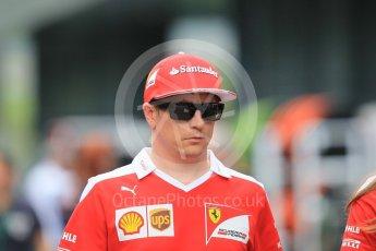 World © Octane Photographic Ltd. Scuderia Ferrari SF16-H – Kimi Raikkonen. Thursday 30th June 2016, F1 Austrian GP Paddock, Red Bull Ring, Spielberg, Austria. Digital Ref :1594CB1D1808