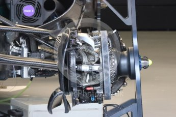 World © Octane Photographic Ltd. Mercedes AMG Petronas W07 Hybrid. Thursday 30th June 2016, F1 Austrian GP Pit Lane, Red Bull Ring, Spielberg, Austria. Digital Ref : 1594LB1D0078