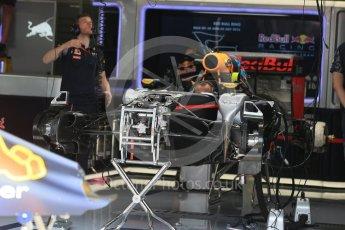 World © Octane Photographic Ltd. Red Bull Racing RB12. Thursday 30th June 2016, F1 Austrian GP Pit Lane, Red Bull Ring, Spielberg, Austria. Digital Ref : 1594LB1D4906