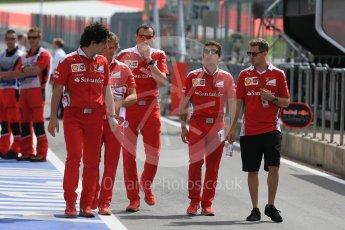 World © Octane Photographic Ltd. Scuderia Ferrari – Sebastian Vettel. Thursday 30th June 2016, F1 Austrian GP Pit Lane, Red Bull Ring, Spielberg, Austria. Digital Ref : 1594LB1D4909