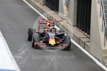 World © Octane Photographic Ltd. Red Bull Racing RB12 with halo cockpit protection device – Pierre Gasly. Tuesday 12th July 2016, F1 In-season testing, Silverstone UK. Digital Ref :1618LB1D7224