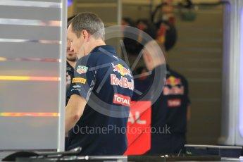 World © Octane Photographic Ltd. Red Bull Racing Chief Engineer - Paul Monaghan. Thursday 24th November 2016, F1 Abu Dhabi GP - Pitlane, Yas Marina circuit, Abu Dhabi. Digital Ref :