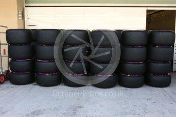 World © Octane Photographic Ltd. Wheels with Purple (Ultrasoft) Pirelli tyres. Thursday 24th November 2016, F1 Abu Dhabi GP - Track. Yas Marina circuit, Abu Dhabi. Digital Ref :