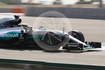 World © Octane Photographic Ltd. Mercedes AMG Petronas W07 Hybrid – Lewis Hamilton. Friday 25th November 2016, F1 Abu Dhabi GP - Practice 1. Yas Marina circuit, Abu Dhabi. Digital Ref :