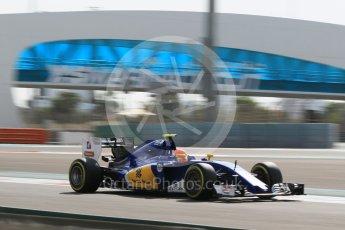 World © Octane Photographic Ltd. Sauber F1 Team C35 – Felipe Nasr. Friday 25th November 2016, F1 Abu Dhabi GP - Practice 1, Yas Marina circuit, Abu Dhabi. Digital Ref :