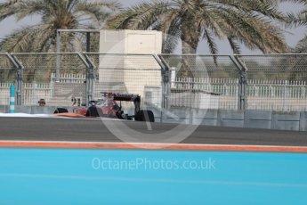 World © Octane Photographic Ltd. Scuderia Ferrari SF16-H – Sebastian Vettel. Friday 25th November 2016, F1 Abu Dhabi GP - Practice 1, Yas Marina circuit, Abu Dhabi. Digital Ref : 1756LB1D7767