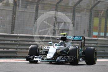 World © Octane Photographic Ltd. Mercedes AMG Petronas W07 Hybrid – Nico Rosberg. Friday 25th November 2016, F1 Abu Dhabi GP - Practice 1. Yas Marina circuit, Abu Dhabi. Digital Ref : 1756LB1D8457