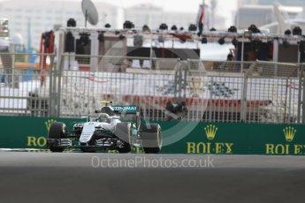 World © Octane Photographic Ltd. Mercedes AMG Petronas W07 Hybrid – Nico Rosberg. Friday 25th November 2016, F1 Abu Dhabi GP - Practice 1. Yas Marina circuit, Abu Dhabi. Digital Ref : 1756LB1D8479