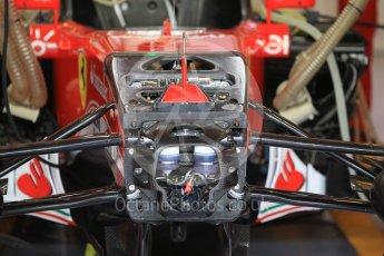 World © Octane Photographic Ltd. Scuderia Ferrari SF16-H – hydraulics detail. Friday 25th November 2016, F1 Abu Dhabi GP - Practice 1, Yas Marina circuit, Abu Dhabi. Digital Ref :