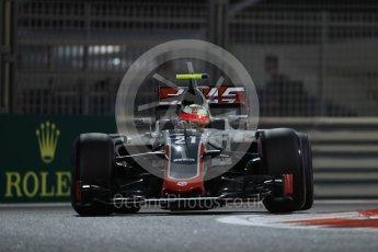 World © Octane Photographic Ltd. Haas F1 Team VF-16 - Esteban Gutierrez. Friday 25th November 2016, F1 Abu Dhabi GP - Practice 2, Yas Marina circuit, Abu Dhabi. Digital Ref :