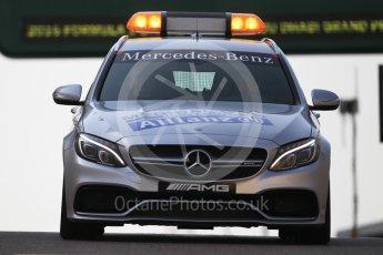 World © Octane Photographic Ltd. AMG C63 Estate Medical Car. Saturday 26th November 2016, F1 Abu Dhabi GP - Practice 3. Yas Marina circuit, Abu Dhabi. Digital Ref :