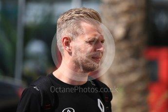 World © Octane Photographic Ltd. Renault Sport F1 Team - Kevin Magnussen. Saturday 26th November 2016, F1 Abu Dhabi GP - Paddock, Yas Marina circuit, Abu Dhabi. Digital Ref : 1764LB1D0009