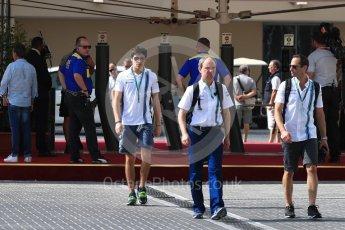 World © Octane Photographic Ltd. Williams Martini Racing, Williams Mercedes FW38 Development Driver – Lance Stroll. Saturday 26th November 2016, F1 Abu Dhabi GP - Paddock, Yas Marina circuit, Abu Dhabi. Digital Ref : 1764LB1D0208