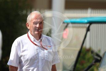 World © Octane Photographic Ltd. Helmut Marko - advisor to the Red Bull Racing. Saturday 26th November 2016, F1 Abu Dhabi GP - Paddock, Yas Marina circuit, Abu Dhabi. Digital Ref : 1764LB1D9650