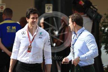 World © Octane Photographic Ltd. Toto Wolff - Executive Director of Mercedes AMG Petronas Formula One Team and guest. Saturday 26th November 2016, F1 Abu Dhabi GP - Paddock, Yas Marina circuit, Abu Dhabi. Digital Ref : 1764LB1D9874