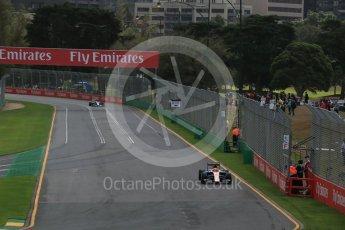 World © Octane Photographic Ltd. Manor Racing MRT05 – Rio Haryanto. Friday 18th March 2016, F1 Australian GP Practice 1, Melbourne, Albert Park, Australia. Digital Ref : 1516LB1D2629