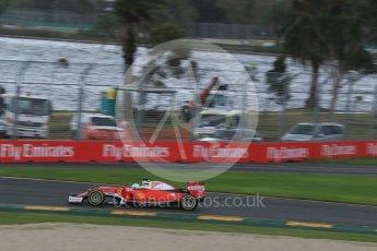 World © Octane Photographic Ltd. Scuderia Ferrari SF16-H – Sebastian Vettel. Friday 18th March 2016, F1 Australian GP Practice 1, Melbourne, Albert Park, Australia. Digital Ref : 1516LB1D2805