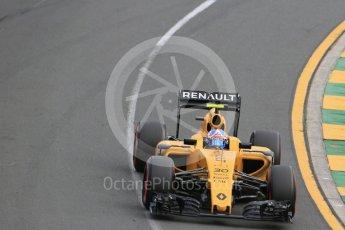 World © Octane Photographic Ltd. Renault Sport F1 Team RS16 – Jolyon Palmer. Saturday 19th March 2016, F1 Australian GP Qualifying, Melbourne, Albert Park, Australia. Digital Ref : 1521LB1D5214