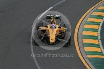 World © Octane Photographic Ltd. Renault Sport F1 Team RS16 – Jolyon Palmer. Saturday 19th March 2016, F1 Australian GP Qualifying, Melbourne, Albert Park, Australia. Digital Ref : 1521LB1D5316