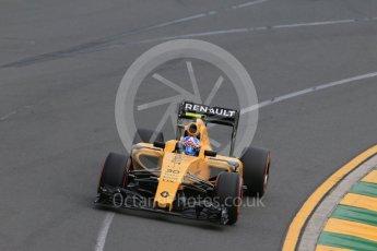 World © Octane Photographic Ltd. Renault Sport F1 Team RS16 – Jolyon Palmer. Saturday 19th March 2016, F1 Australian GP Qualifying, Melbourne, Albert Park, Australia. Digital Ref : 1521LB1D5393