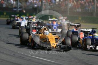 World © Octane Photographic Ltd. Renault Sport F1 Team RS16 - Kevin Magnussen. Sunday 20th March 2016, F1 Australian GP Race, Melbourne, Albert Park, Australia. Digital Ref : 1524LB1D6965