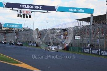 World © Octane Photographic Ltd. Williams Martini Racing, Williams Mercedes FW38 – Felipe Massa. Sunday 20th March 2016, F1 Australian GP Race, Melbourne, Albert Park, Australia. Digital Ref : 1524LB1D7371