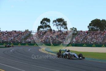 World © Octane Photographic Ltd. Mercedes AMG Petronas W07 Hybrid– Nico Rosberg. Sunday 20th March 2016, F1 Australian GP Race, Melbourne, Albert Park, Australia. Digital Ref : 1524LB5D2132