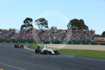 World © Octane Photographic Ltd. Williams Martini Racing, Williams Mercedes FW38 – Felipe Massa. Sunday 20th March 2016, F1 Australian GP Race, Melbourne, Albert Park, Australia. Digital Ref : 1524LB5D2150