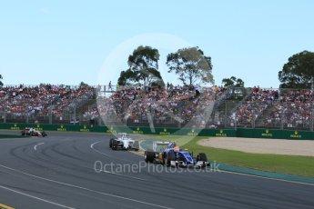 World © Octane Photographic Ltd. Sauber F1 Team C35 – Felipe Nasr. Sunday 20th March 2016, F1 Australian GP Race, Melbourne, Albert Park, Australia. Digital Ref : 1524LB5D2179