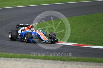 World © Octane Photographic Ltd. Manor Racing MRT05 - Pascal Wehrlein. Friday 1st July 2016, F1 Austrian GP Practice 1, Red Bull Ring, Spielberg, Austria. Digital Ref : 1598CB1D1872