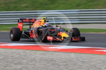World © Octane Photographic Ltd. Red Bull Racing RB12 – Max Verstappen. Friday 1st July 2016, F1 Austrian GP Practice 1, Red Bull Ring, Spielberg, Austria. Digital Ref : 1598CB1D2132