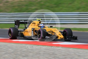 World © Octane Photographic Ltd. Renault Sport F1 Team RS16 – Jolyon Palmer. Friday 1st July 2016, F1 Austrian GP Practice 1, Red Bull Ring, Spielberg, Austria. Digital Ref : 1598CB1D2252