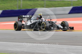 World © Octane Photographic Ltd. McLaren Honda MP4-31 – Jenson Button. Friday 1st July 2016, F1 Austrian GP Practice 2, Red Bull Ring, Spielberg, Austria. Digital Ref : 1600CB1D2387