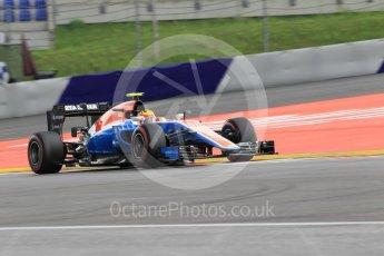 World © Octane Photographic Ltd. Manor Racing MRT05 – Rio Haryanto. Friday 1st July 2016, F1 Austrian GP Practice 2, Red Bull Ring, Spielberg, Austria. Digital Ref :1600CB1D2442