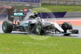 World © Octane Photographic Ltd. Mercedes AMG Petronas W07 Hybrid – Nico Rosberg. Friday 1st July 2016, F1 Austrian GP Practice 2, Red Bull Ring, Spielberg, Austria. Digital Ref : 1600CB1D2557