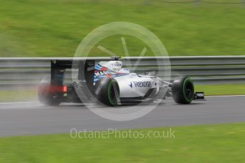 World © Octane Photographic Ltd. Williams Martini Racing, Williams Mercedes FW38 – Valtteri Bottas. Friday 1st July 2016, F1 Austrian GP Practice 2, Red Bull Ring, Spielberg, Austria. Digital Ref : 1600CB1D2607