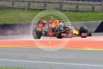 World © Octane Photographic Ltd. Red Bull Racing RB12 – Daniel Ricciardo. Friday 1st July 2016, F1 Austrian GP Practice 2, Red Bull Ring, Spielberg, Austria. Digital Ref : 1600CB1D2732